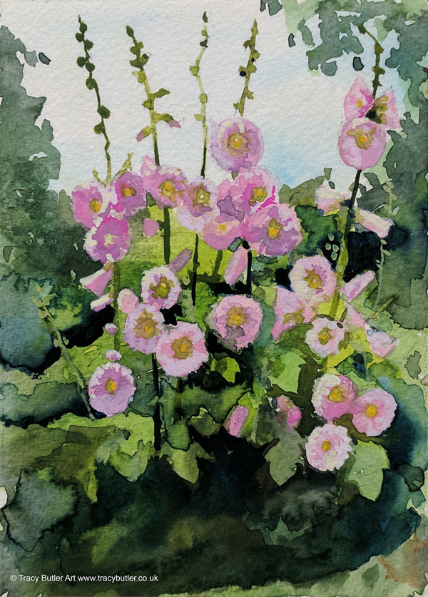 tracy_butler_hollyhocks